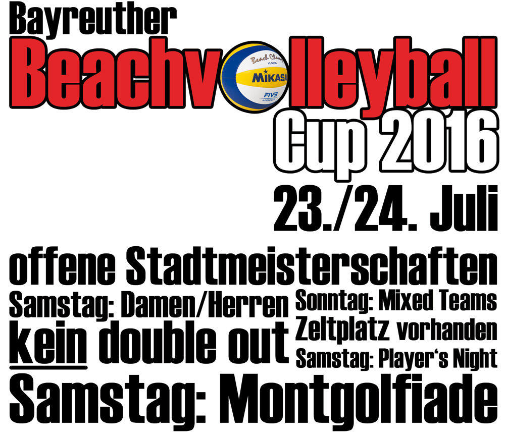 Bayreuther Beach Cup 2016
